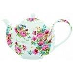 """Чайник заварочный  R2S """"Цветы"""" с металлическим ситечком 1л белый Les Fleurs R0930JAS"""