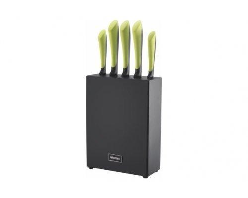 Набор из 5 кухонных ножей с блоком NADOBA серия JANA