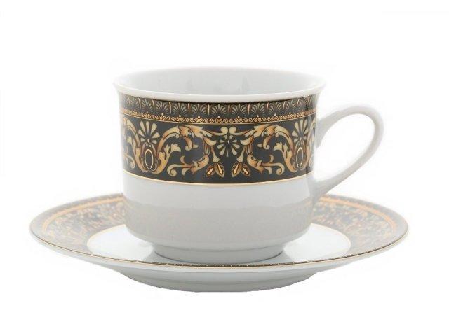 """Набор из двух чайных пар Leander Сабина """"Версаче"""" 0,20 л"""
