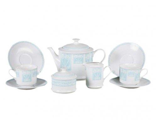 """Сервиз чайный Leander """"Сабина 242C"""" на 6 персон 15 предметов"""