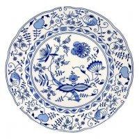 """Набор тарелок мелких Leander Мэри-Энн """"Луковый рисунок"""" 6 персон 19см"""