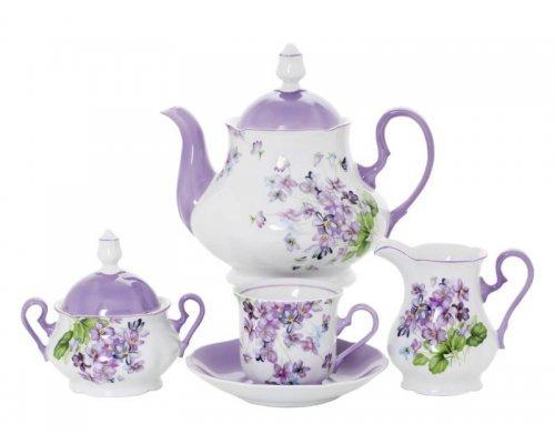 """Сервиз чайный Leander """"Мэри-Энн 2391"""" на 6 персон 15 предметов"""