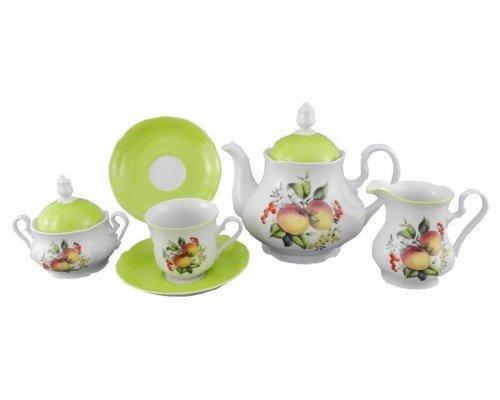 Сервиз чайный Leander Мэри-Энн Спелые яблоки на 6 персон 15 предметов