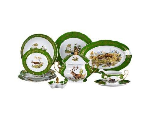"""Чайно-столовый сервиз Leander """"Мэри-Энн Царская охота"""" на 6 персон 40 предметов"""