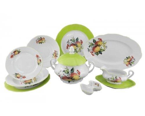 Сервиз столовый Leander Мэри-Энн Спелые яблоки на 6 персон 25 предметов