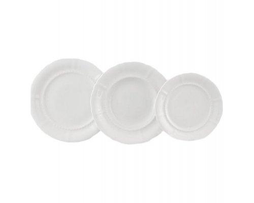 "Набор тарелок Leander ""Соната 0000"" на 6 персон 18 предметов (19+23+25см)"