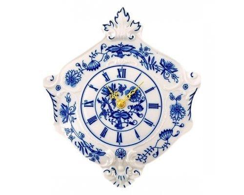 """Часы настенные гербовые Leander Мэри-Энн """"Луковый рисунок"""" 27см"""