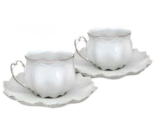 "Набор из двух чайных пар Leander ""Виктория"" 0.20 л"