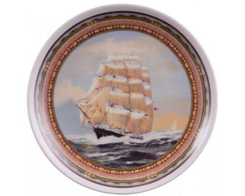 Тарелка настенная 21 см, Парусники 02110141-B903