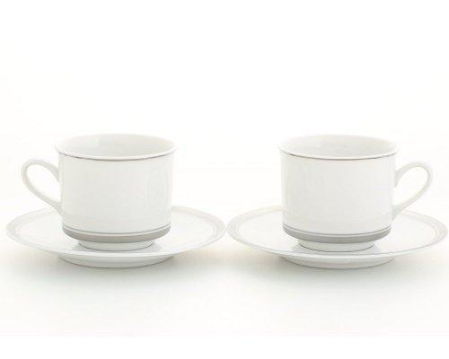 Набор из двух чайных пар Leander Сабина 2 персоны 0,20л