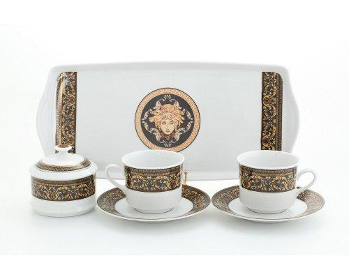 "Подарочный набор чайный Тет-а-тет Leander Сабина ""Версаче"""