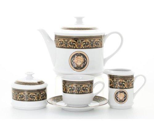 """Сервиз чайный Leander Сабина """"Версаче"""" на 12 персон 27 предметов"""