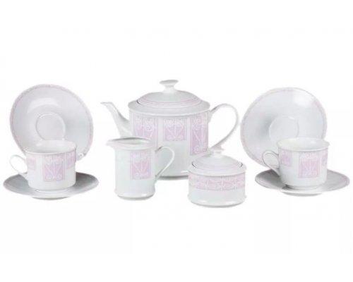 "Сервиз чайный Leander ""Сабина 242A"" на 6 персон 15 предметов"