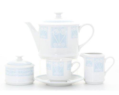 "Сервиз чайный Leander ""Сабина 242B"" на 6 персон 15 предметов"