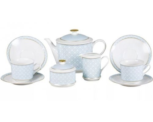 """Сервиз чайный Leander """"Сабина 243C"""" на 6 персон 15 предметов"""