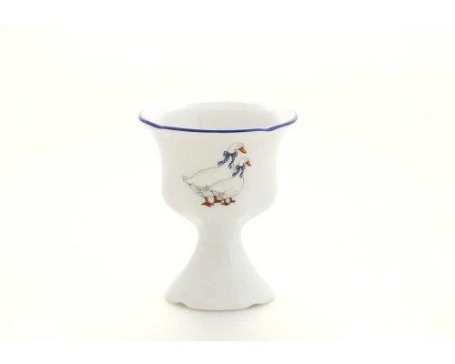 """Чашка для яйца на ножке Leander Мэри-Энн """"Гуси"""""""
