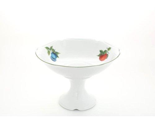 "Ваза для фруктов на ножке Leander Мэри-Энн ""Фруктовый сад"" 23см"