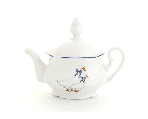 """Чайник заварочный Leander Мэри-Энн """"Гуси"""" 0.35 л"""