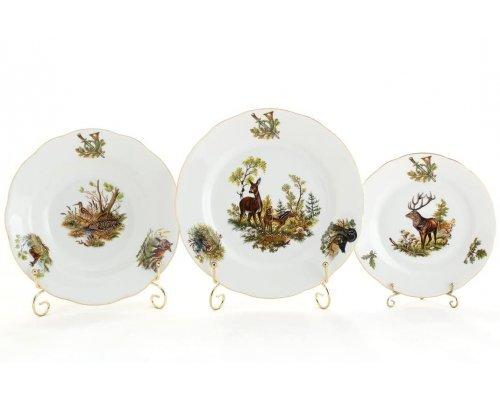 "Набор тарелок Leander Мэри-энн ""Охота"" 18 предметов (19+23+25см)"