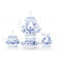 """Сервиз чайный Leander Мэри-Энн """"Луковый рисунок"""" на 6 персон 15 предметов"""