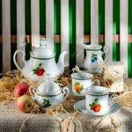 """Сервиз чайный Leander Мэри-Энн """"Фруктовый сад"""" на 12 персон 27 предметов"""