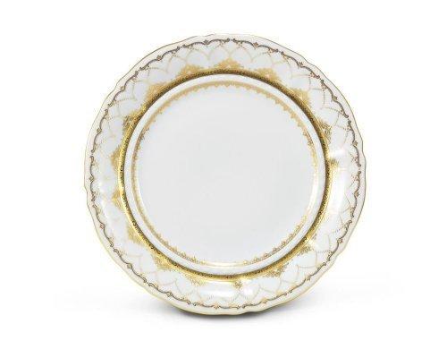 Тарелка мелкая 25см Соната Золотое кружево Leander