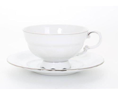 """Набор чайных пар 0,2 л Leander """"Соната 1138"""" 6 персон"""