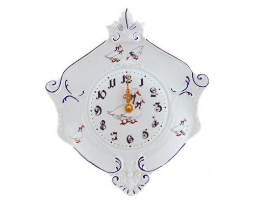 "Часы настенные гербовые Leander Мэри-Энн ""Гуси"" 27см"