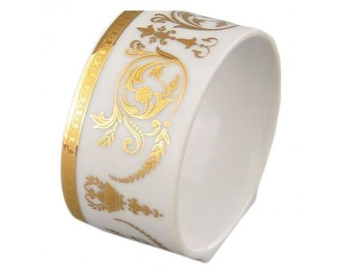 "Кольцо для салфеток Leander Сабина ""Золотые узоры"""