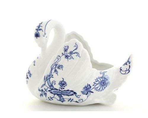 """Лебедь конфетница Leander Мэри-Энн """"Луковый рисунок"""""""