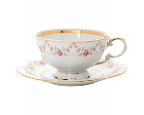 "Набор из двух чайных пар Leander Соната ""Мелкие цветы"" 0.20 л"