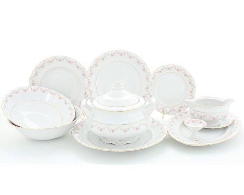 """Чайно-столовый сервиз Leander Соната """"Мелкие цветы"""" на 6 персон 40 предметов"""