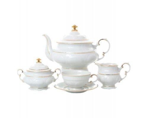 """Сервиз чайный Leander """"Соната 1139"""" на 12 персон 27 предметов"""