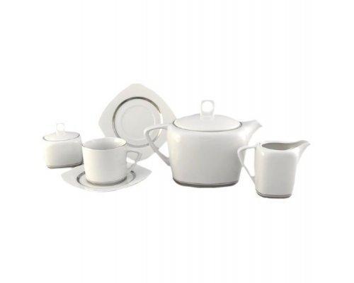 """Сервиз чайный Leander """"Бьянка 0011"""" на 6 персон 15 предметов"""