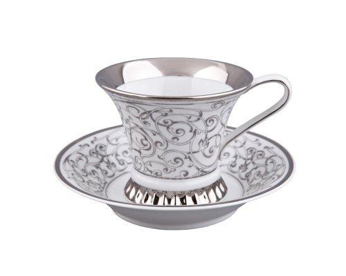 Чашка высокая с блюдцем Rudolf Kampf Византия D936 0,2 л