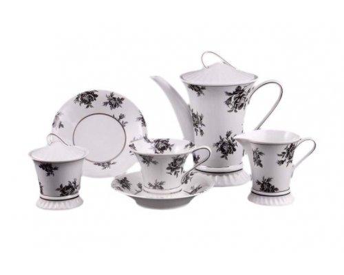 """Сервиз чайный Leander """"Светлана 2201"""" на 6 персон 15 предметов"""