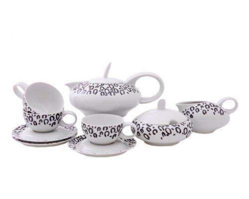 """Сервиз чайный Leander """"Тереза 0694"""" на 6 персон 15 предметов"""