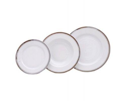 Набор тарелок Leander Сабина на 6 персон 18 предметов (19+23+25см)