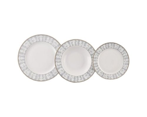 """Набор тарелок Leander """"Сабина 1013"""" на 6 персон 18 предметов"""
