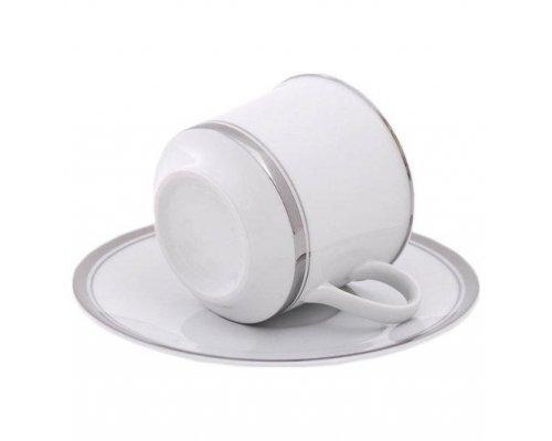 Набор чашек высоких с блюдцами Leander Сабина 6 персон 0,1 л