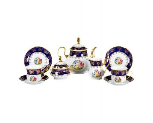 "Сервиз чайный Leander Мэри-Энн ""Мадонна 0179"" на 12 персон 27 предметов"