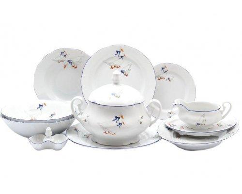 "Чайно-столовый сервиз Leander Мэри-Энн ""Гуси"" на 6 персон"
