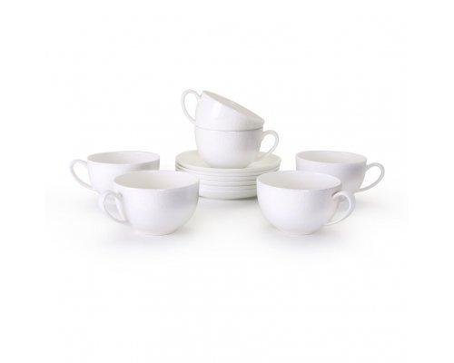 Набор чайных пар Мирас Акку 6 персон 12 предметов 220 мл