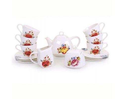 Чайный сервиз Варвара на 6 персон 15 предметов