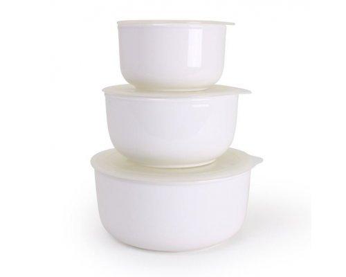 Набор салатников с крышками Классика 3 предмета