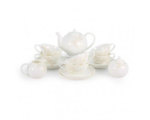 Чайный сервиз Магнолия на 6 персон 15 предметов