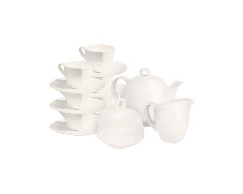 Чайный сервиз Квадрат на 6 персон 15 предметов