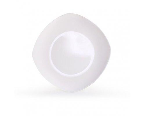 Тарелка квадратная Классика 25 см