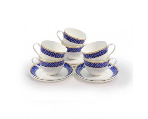 Набор чайных пар Аружан Акку на 6 персон 250 мл