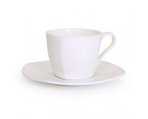Чайная пара квадратная Классика Акку 250 мл